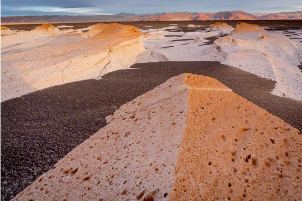 Pumice field in the Atacama desert , Argentina