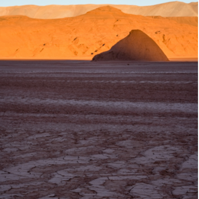 Sunrise in the Atacama desert , Argentina